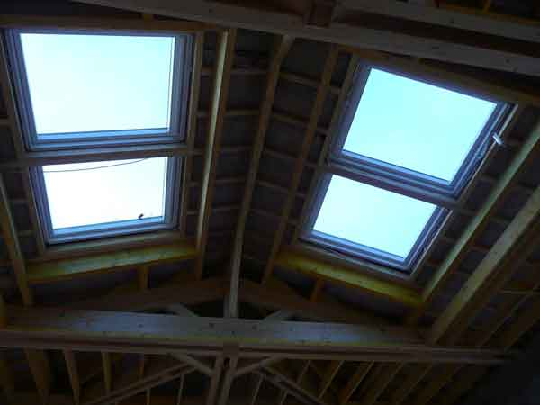 comble isolation velux